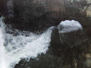 Keltische sluiers: waterval
