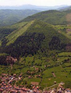 Een van de piramides van Bosnië